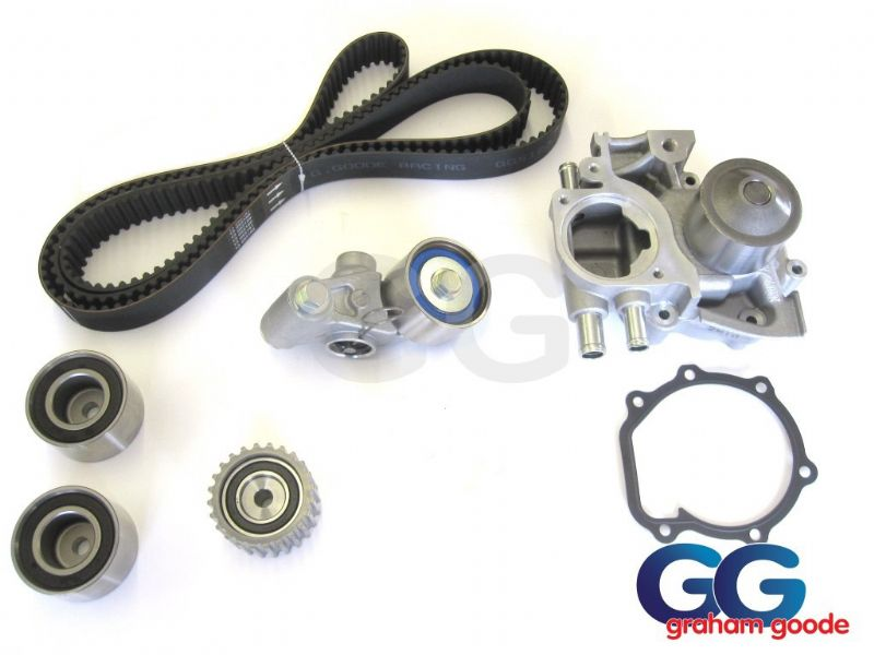 Impreza Turbo Timing Belt Kit Dayco Cam Belt & Water Pump Vers 3 4 96-98 WRX STi GGS123TBK15